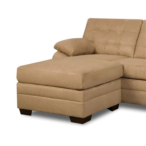 beige sectional with chaise leena storage chaise lounger beige home furniture