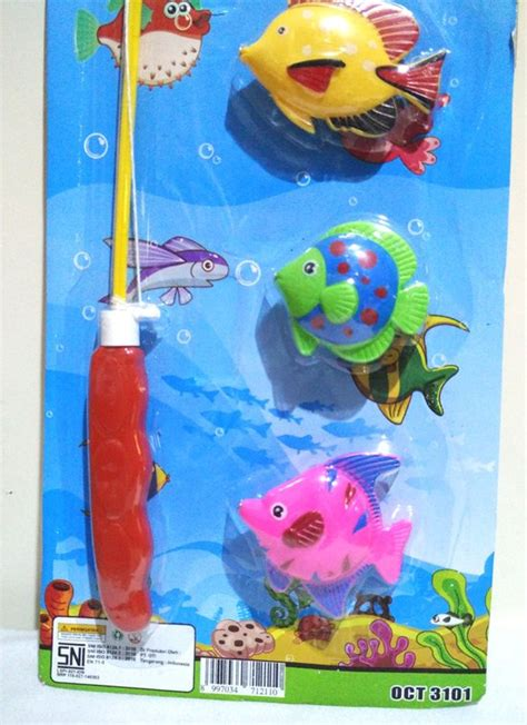 Promo Mainan Pancingan Ikan Fishing 4 Kolam Murah harga mainan pancing ikan dhian toys