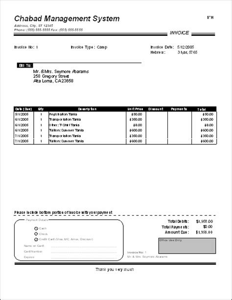 tuition bill template tuition bill template pacq co