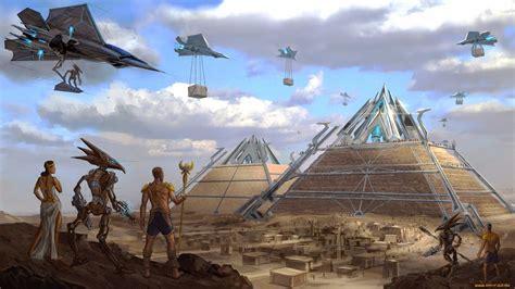 pyramid builders extraordinary documentary tells us how ancient aliens