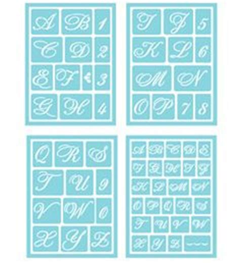 printable letters martha stewart 1000 images about stencils on pinterest adhesive