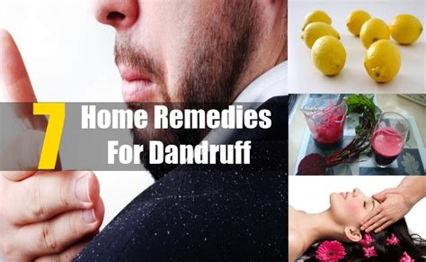 7 home remedies for dandruff treatments cure