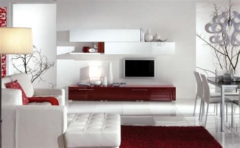 red color schemes for living rooms house decorating ideas smart and great interior color