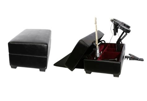 Ak S Rock Box Gaming And Storage Ottoman Gift Ticatoca Rock Band Storage Ottoman