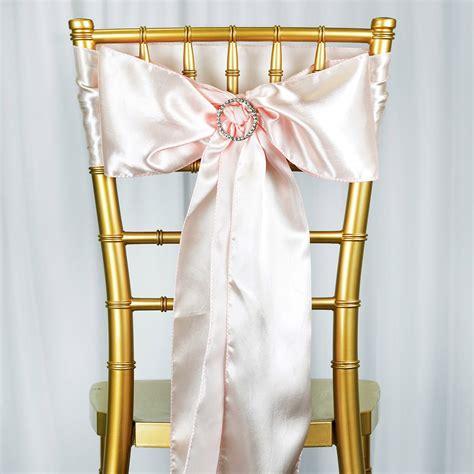 10 new satin chair sash bows ties wedding bridal