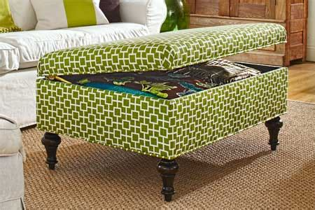 Diy Storage Ottoman How To Make A Secret Storage Ottoman Stashvault