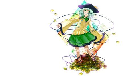 Gasing Green Bee Set 318 Dress Flowers Green Hat Komeiji Koishi Hair Tora