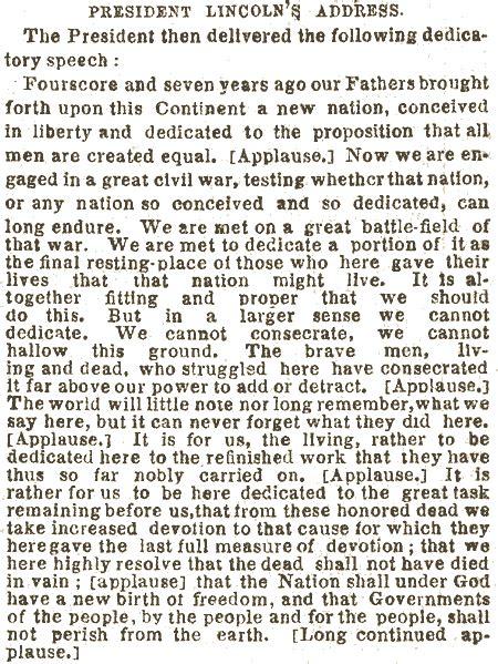 lincoln s gettysburg address 1912 geschiedenis woest vredig pagina 109