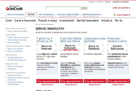 unicredit servizi on line servizi units seotoolnet