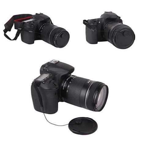 Review Lensa Nikon tali tutup lensa kamera anti lost lens cap black jakartanotebook