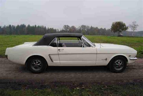 Mustang Auto Günstig Kaufen by Ford Mustang 1965 Convertible 289 V8 Topseller Oldtimer