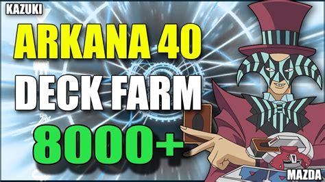 otaku cabeludo meu deck de yu gi oh arkana 40 meu deck de farm consiga entre 7 000 a 8 000