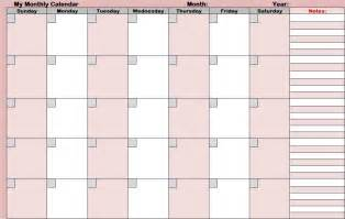 large monthly calendar template 13 large blank monthly calendar template images