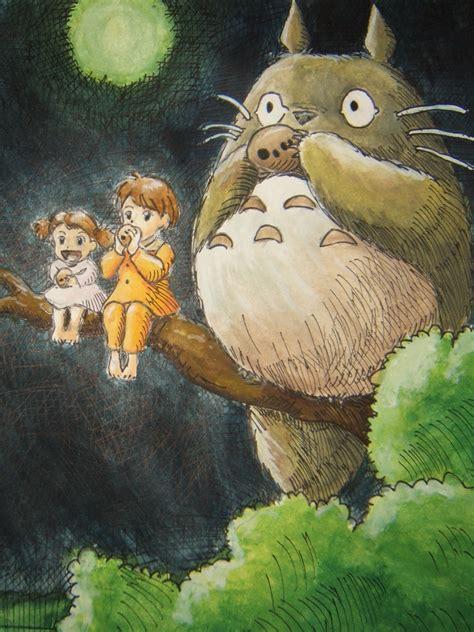 Totoro Satsuki Mei Pos totoro and the neko 隣のトトロ neko in second