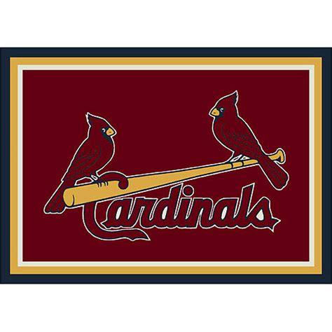 St Louis Cardinals Rug st louis cardinals team logo area rug