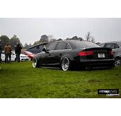Stanced Audi A4 B8 Rear