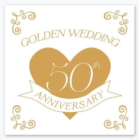 Golden Wedding by Golden Wedding Anniversary