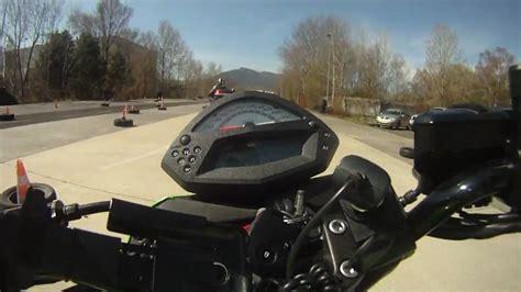 Fahrsicherheitstraining Motorrad Polizei Wien by Langsamfahren Teil 1