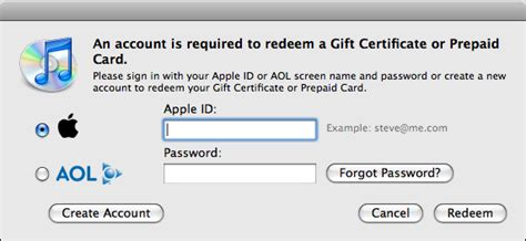 How To Set Up Itunes Gift Card On Ipod - how do i redeem an itunes gift card ask dave taylor