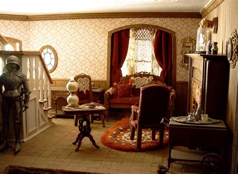 doll house room dollhouse number 06 the haunted house