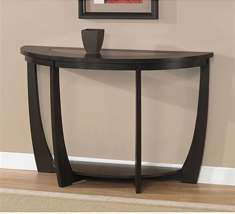 Sofa Bar Table Archer Espresso Sofa Table Contemporary Indoor Pub And Bistro Tables By Overstock