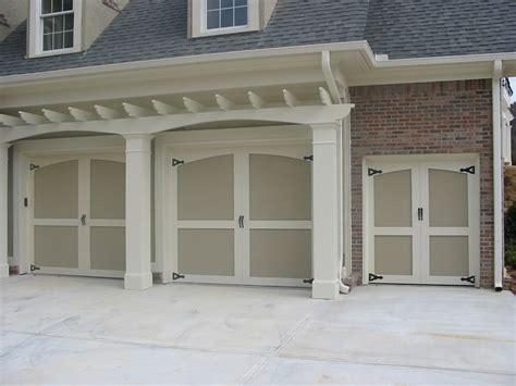 Overhead Door Nashville by Garage Door Gallery Carriage House Raised Panel Wood