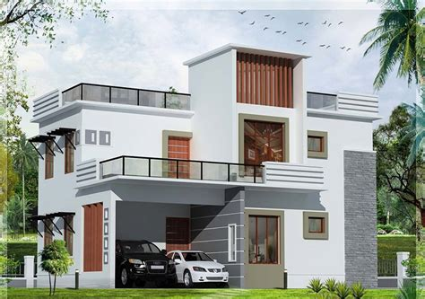 pics for gt modern house with balcony