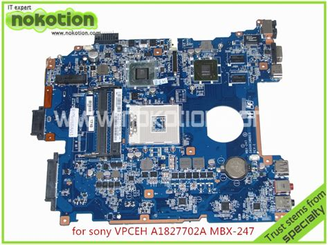 mbx 247 a1827702a laptop motherboard for sony vaio vpceh da0hk1mb6e0 rev e 31hk1mb0060 hm65