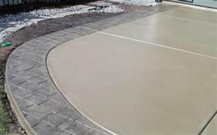 color concrete patio sted concrete services in shreveport bossier city
