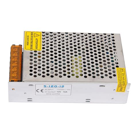 Dc 12v 10a Regulated Switching Power Supply 100240v 704q4 dc 12v 10a 120w switching power supply regulated