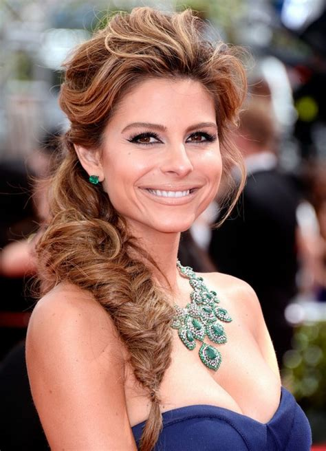 Hairstyles Night Out | maria menounos long hairstyles fish braided hairstyle for