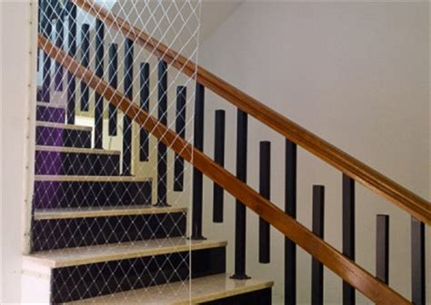 Banister Netting make your stairs safe shismoo safety services