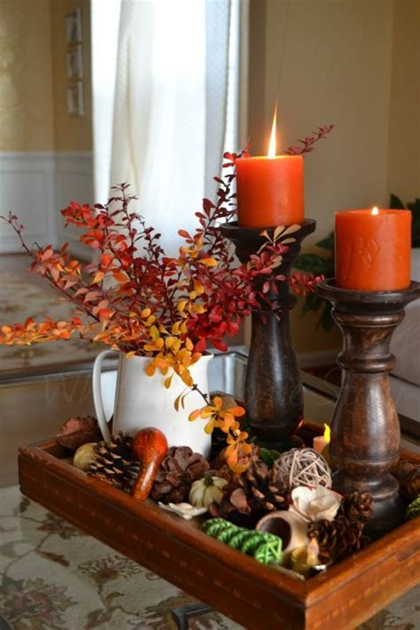 and fall decorations thirty festive fall table decor ideas decoration trend