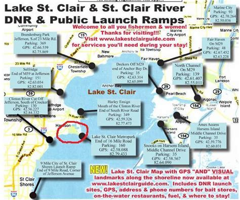 detroit river boat launches facts about lake st clair jobbiecrew