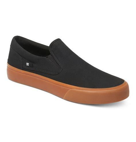 slip on shoes dc shoes trase slip on shoes adys300184 ebay