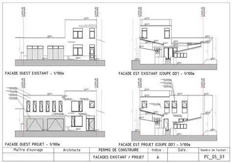 Plan De Maison Facade by Logiciel Pour Dessiner Plan Facade Maison Ventana