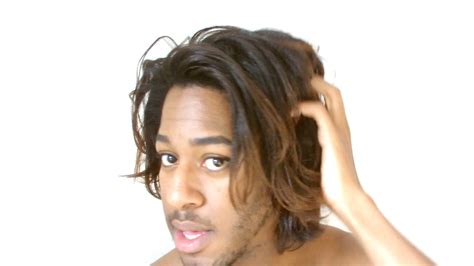 relaxed black male hair relaxed hair before and after men www pixshark com
