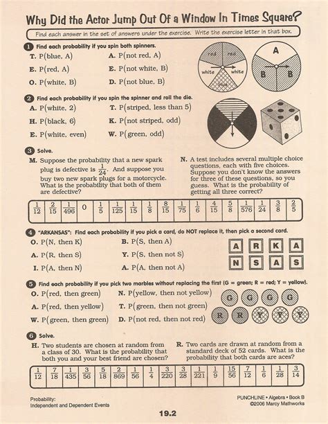 Compound Probability Worksheet by Compound Probability Worksheet Lesupercoin Printables Worksheets