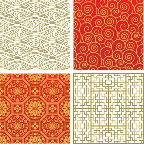 asian designs elegant asian style seamless patterns brisasia festival