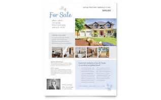 House For Sale Spec Sheet Template by Real Estate Flyer Templates The Best Free Paid List