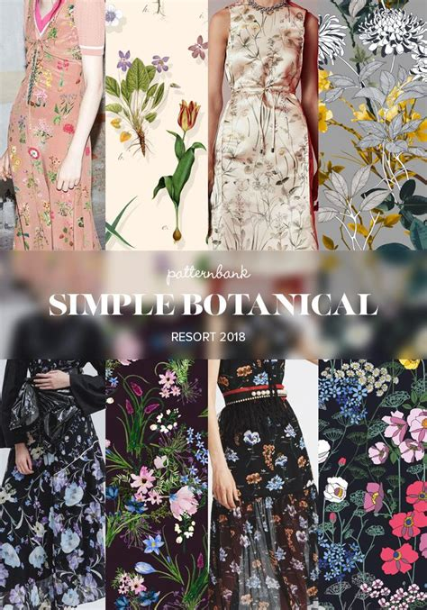 trends pattern curator botanical continent ss 2018 resort 2018 print and pattern catwalk trends trend