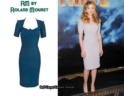 Who Wore Rm By Roland Mouret Better Trudie Styler Or Jemima Khan by In Johansson S Closet Rm By Roland Mouret