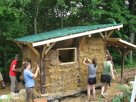 Straw Bale Shed Plans by 2011 Straw Bale Workshop Blue Rock Station S