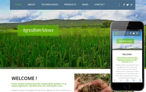 free bootstrap templates for agriculture agriculture science a agriculture category flat bootstrap