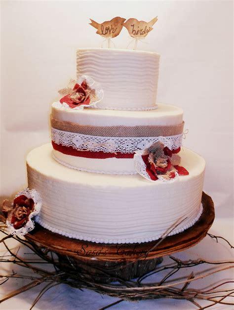 Wedding Cake Ribbon by Burlap Ribbon Wedding Cake Www Imgkid The Image