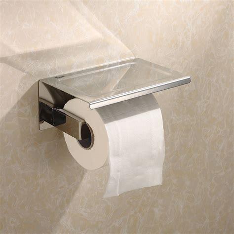 toilet tissue holder new toilet paper holder square roll stainless bathroom