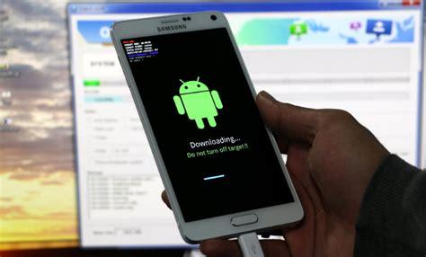 tutorial flash ulang android cara flash ulang samsung galaxy note 4 ngibadpunya