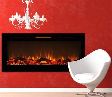 Smokeless Fireplace Insert by Elite 50 Fusion Log Built In Smokeless Wall Mounted