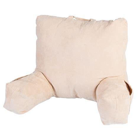 cuscino per leggere a letto maxi cuscino con braccioli dmail