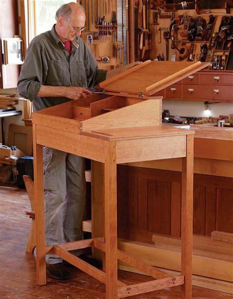 desk plans fine woodworkings  plans  projects